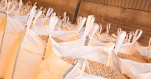 bags of animal feed for delivery