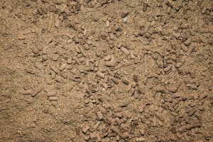 Close up of cereal blend